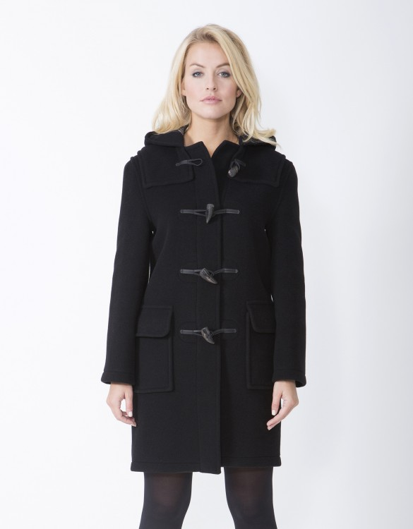 Black-Ladies-Duffle-Coat-Emily-Front