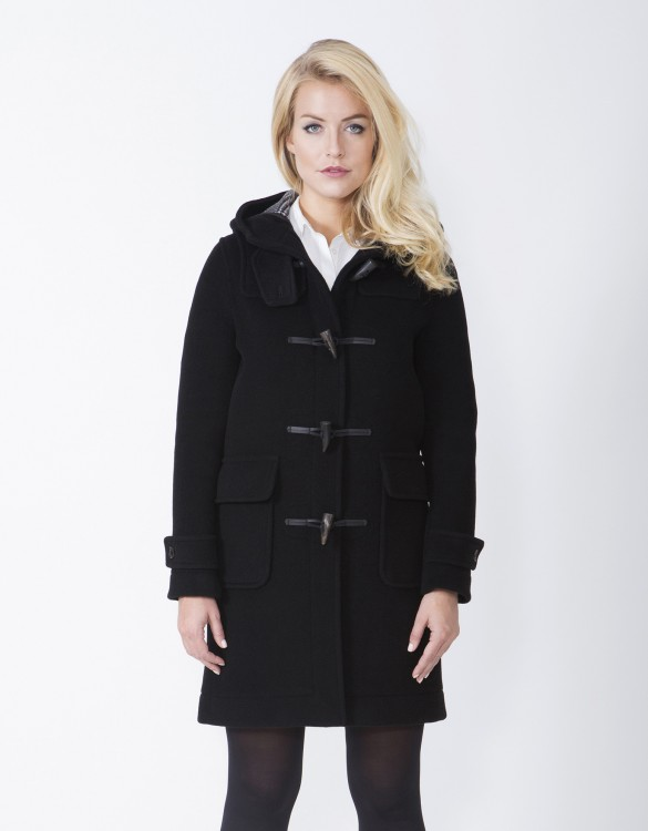 Black-Ladies-Duffle-Coat-Erica-Front
