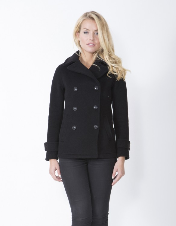 Black-Ladies-Peacoat-Lisa-Welt-Front