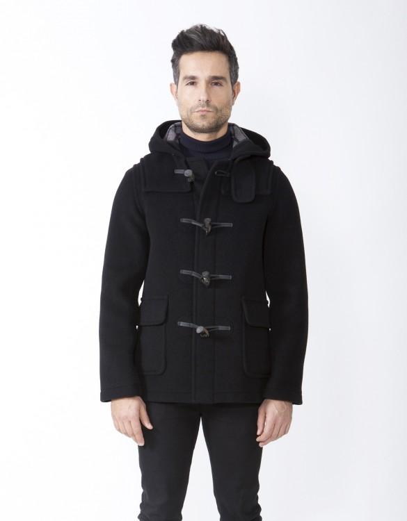 Charcoal-Mens-Duffle-Coat-Martin-SLM-Front