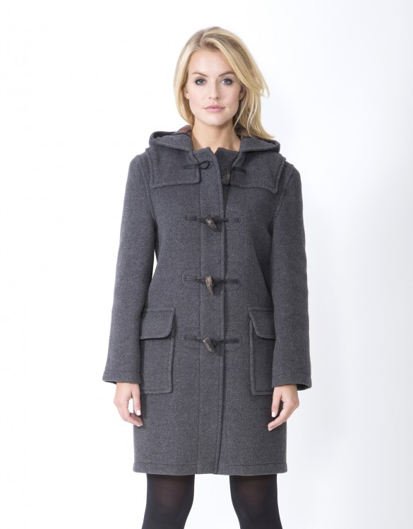 Grey-Ladies-Duffle-Coat-Emily-Front