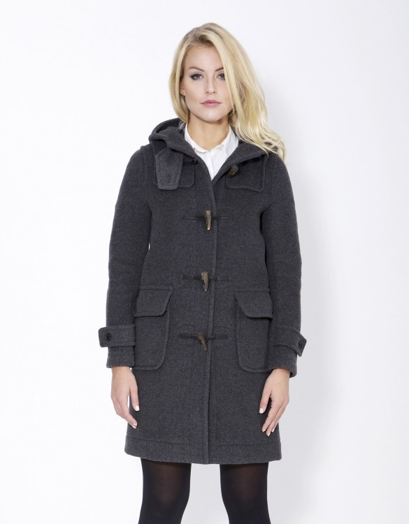 Grey-Ladies-Duffle-Coat-Erica-Front