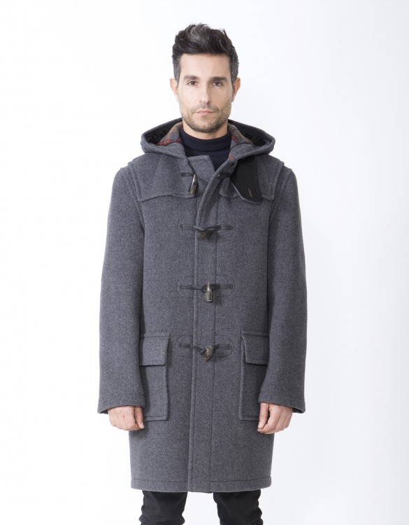 Grey-Men-Duffle-Coat-Martin-Front