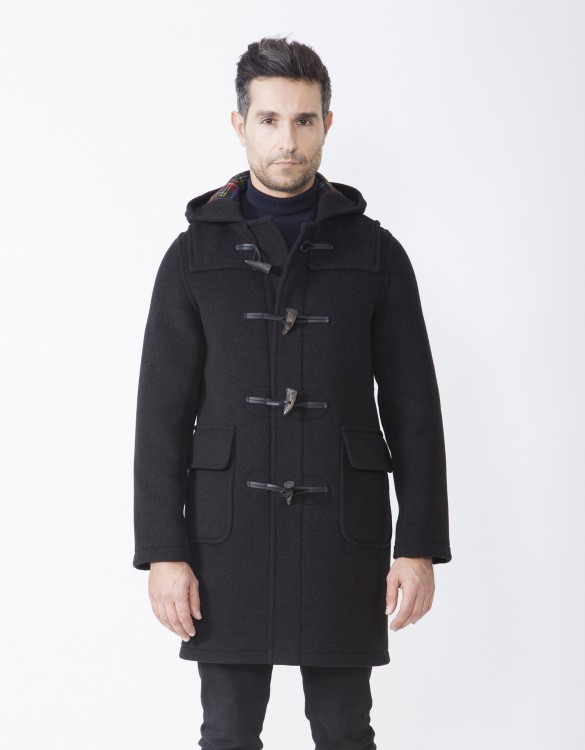 Mens-Duffle-Coat-Martin-SLM-Long-Front