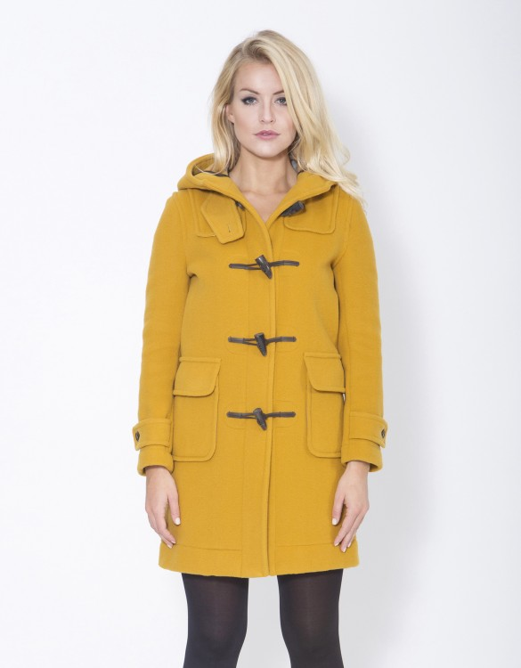 Mustard-Ladies-Duffle-Coat-Erica-Front