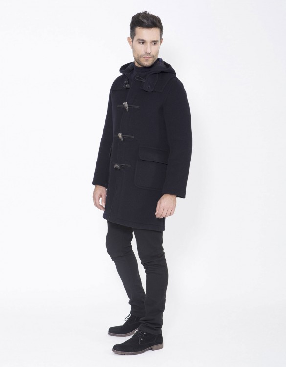 Navy-DG-Mens-Duffle-Coat-Martin-SLM-Long-Side