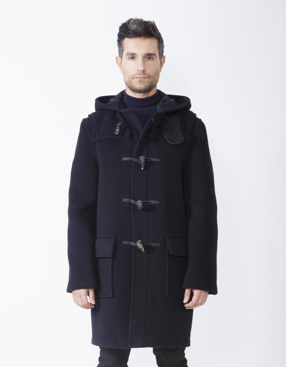 Navy-RS-Mens-Duffle-Coat-Martin-Front