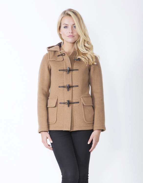 Camel-Ladies-Duffle-Coat-Martina-Front