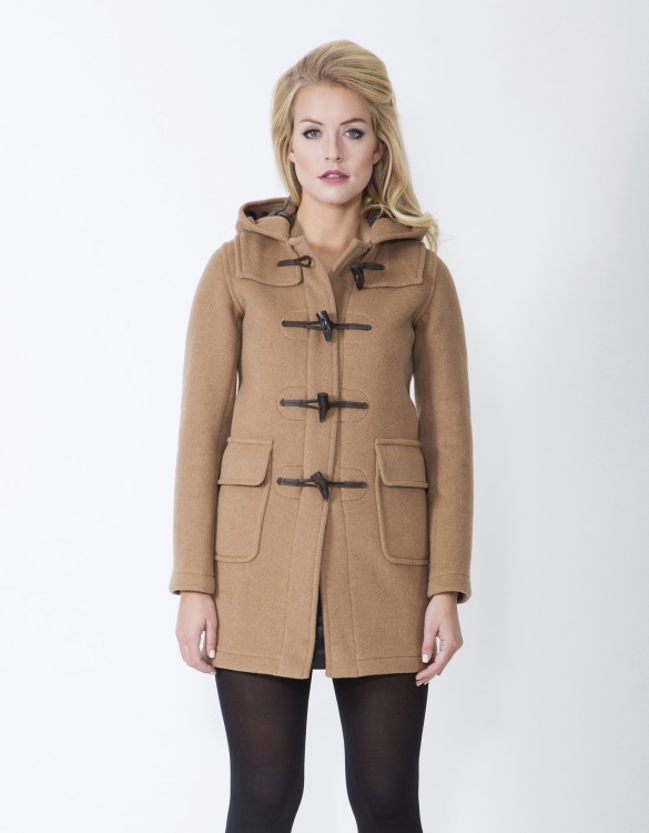 Camel-Ladies-Duffle-Coat-Martina-Long-Front