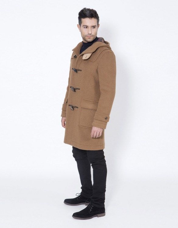 Camel-Mens-Duffle-Coat-Mens-Classic-Side