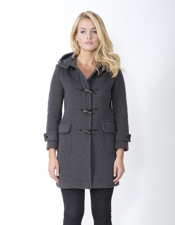Grey-Ladies-Duffle-Coat-M8-Front