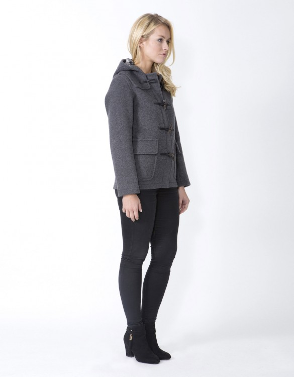 Grey-Ladies-Duffle-Coat-Martina-Side