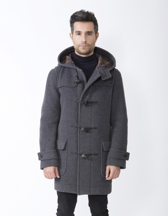 Grey-Mens-Duffle-Coat-M5-Front