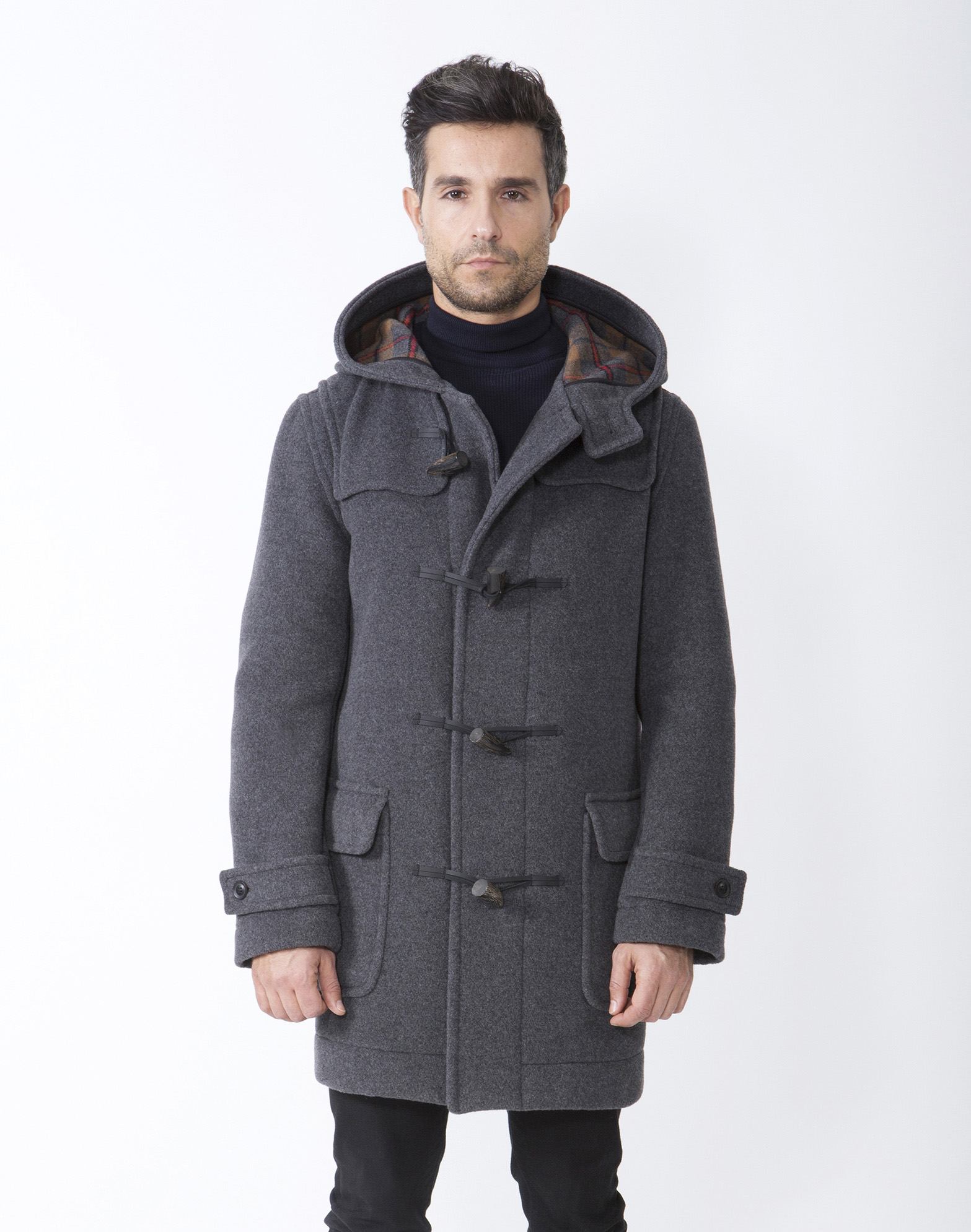 Shop Men's British Duffle & Pea Coats | London Tradition