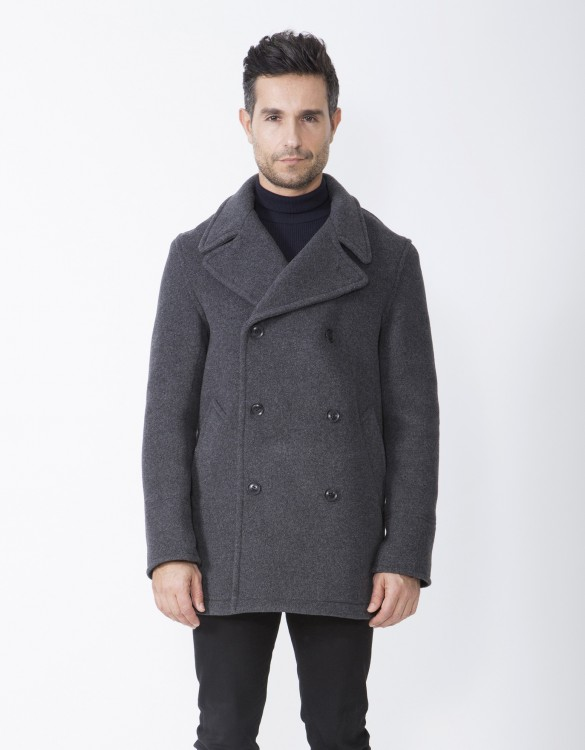 Grey-Mens-Peacoat-Scott-Front