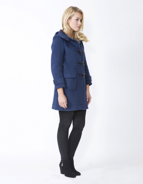 Indigo-Ladies-Duffle-Coat-M8-Side