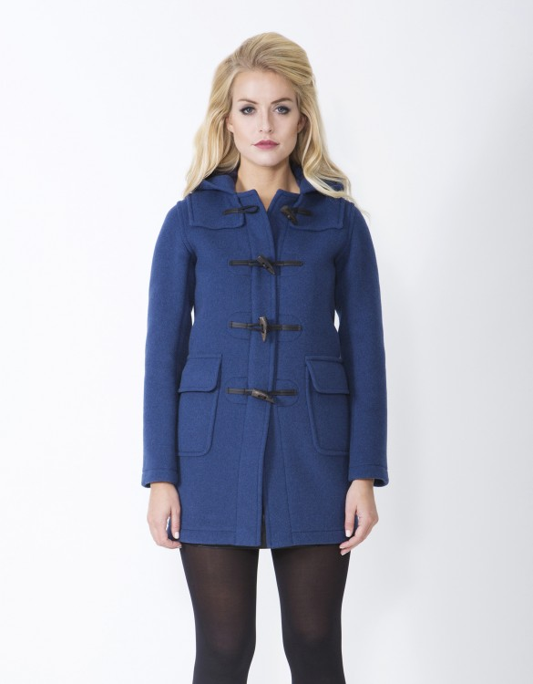 Indigo-Ladies-Duffle-Coat-Martina-Long-Front