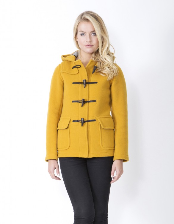 Mustard-Ladies-Duffle-Coat-Martina-Front