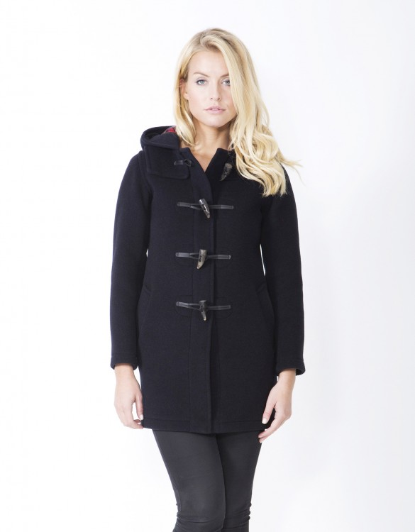 Navy-Ladies-Duffle-Coat-Martina-Long-Welt-Front