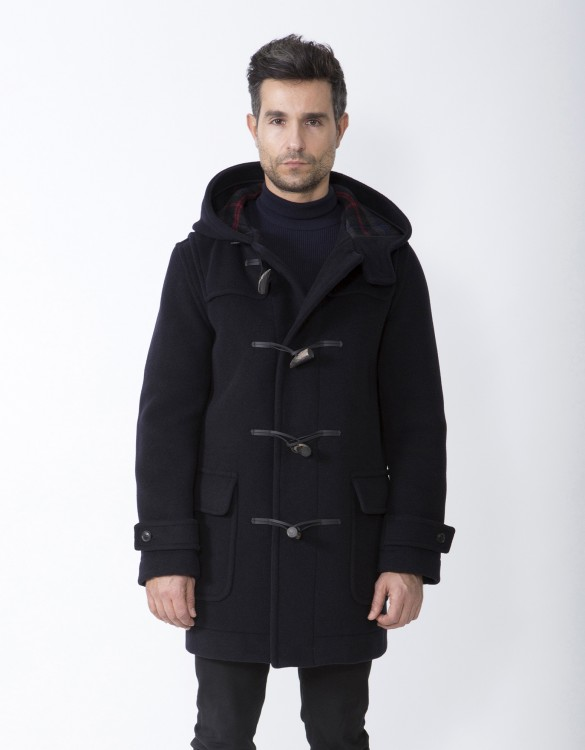 Navy-Mens-Duffle-Coat-M5-Front