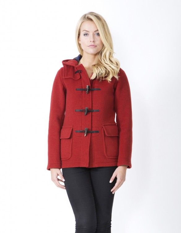 Orange-Ladies-Duffle-Coat-Martina-Front