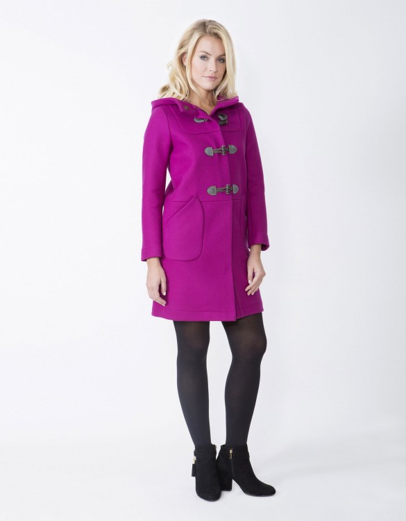 Pink-Ladies-Fashion-Coat-MCD52-Side