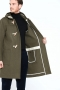 London-Tradition-Monty-Mens-Duffle-Coat-Olive-I