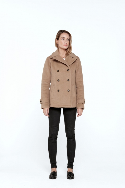 Lisa Welt Pea Coat