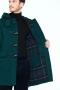 London-Tradition-Martin-SLM-Long-Mens-Duffle-Coat-British-Racing-Green-I